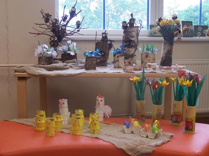 Noortekeskuse kunstiringi SUSHER-VUSHER tööde näitus