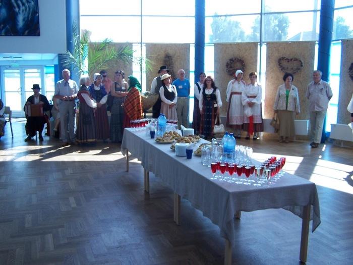 Vallavanema vastuvõtt Baltica 2010 külalistele