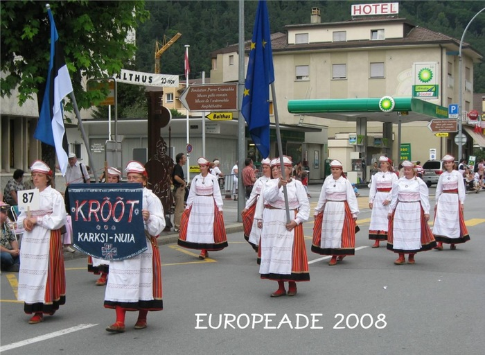 Tantsurühm KRÕÕT Europeade 2008
