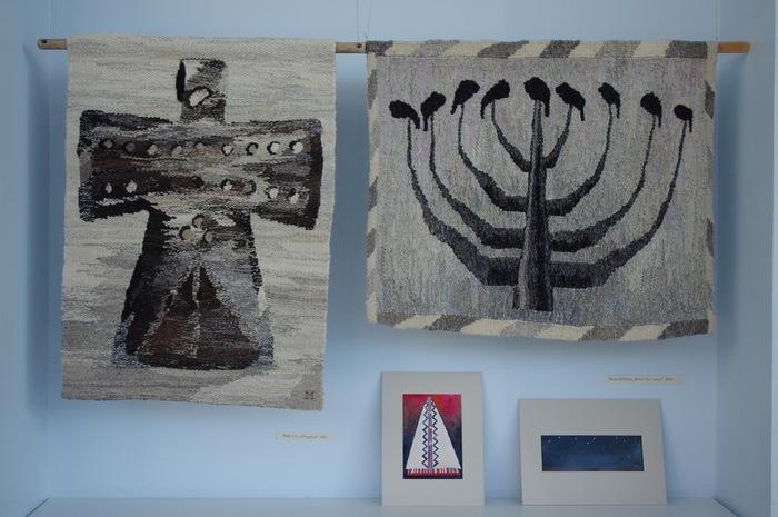 TÜ Viljandi Kultuuriakadeemia rahvusliku tekstiili eriala tudengite näitus