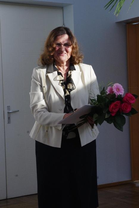 Karksi valla teenetemärgi pidulik üleandmine Olga Palule
