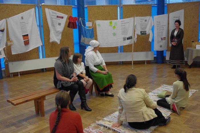 Vaimse kultuuripärandi näituse avamine