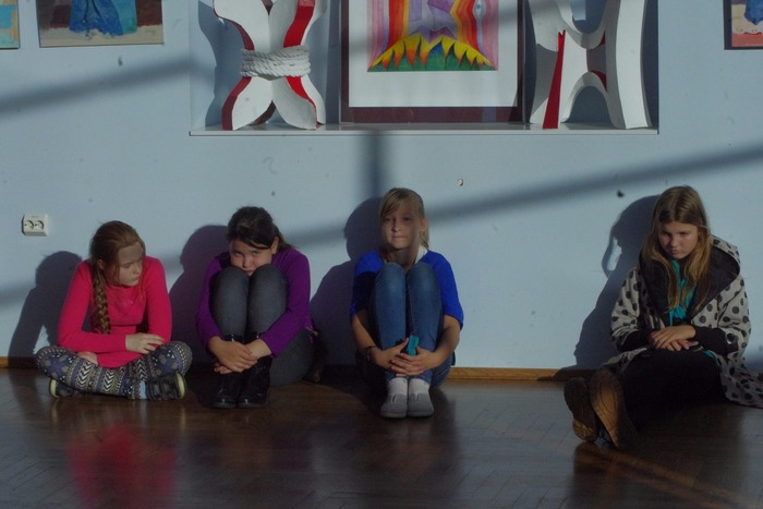 Ruhja kunstistuudio õpilaste näituse avamine