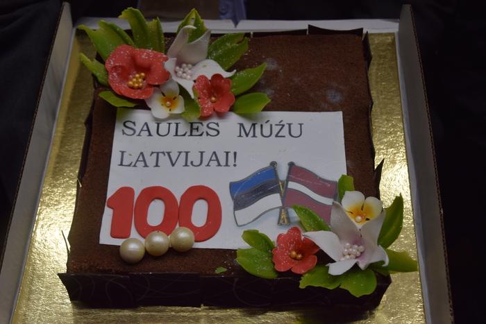 Läti Vabariik 100 tähistamine Naukšēnis