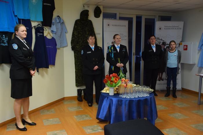 NKK Karksi jaoskonna näituse avamine
