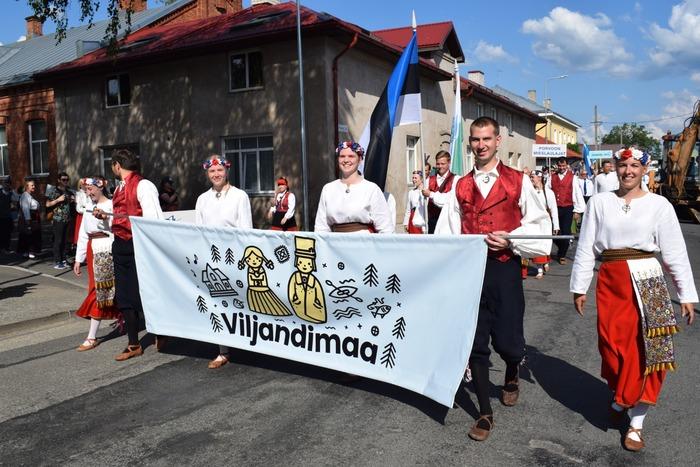 """Viljandimaa laulu- ja tantsupidu """"Õnn ja rõõm"""""""